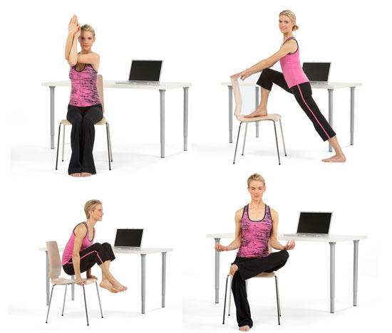 "Is ""Desk Yoga"" Worth The Effort?"